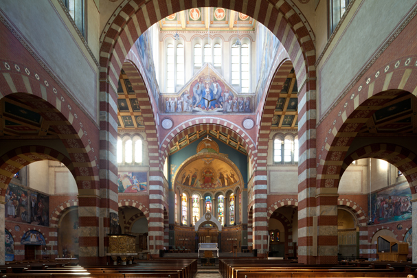 RK kerk O.L.V. van de Allerheiligste Rozenkrans Amsterdam (Obrechtkerk) / Roman Catholic Church Amsterdam (Obrechtkerk) ( J. Stuyt, J.Th.J. Cuypers )
