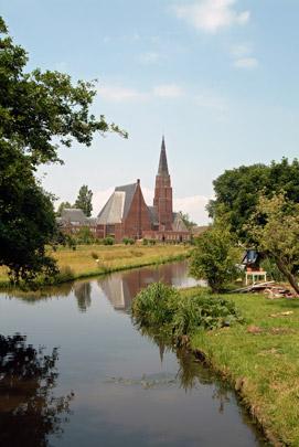 Gereformeerde kerk Andijk / Reformed Church Andijk ( E. Reitsma )
