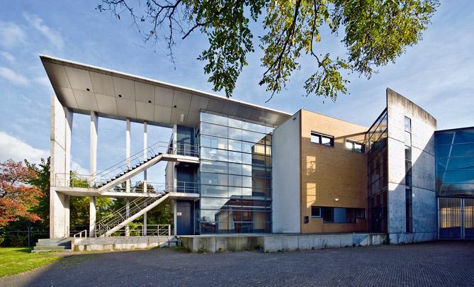 Bibliotheek; Botanisch Laboratorium Landbouwuniversiteit / Library; Botanical Centre Agricultural University ( Mecanoo )